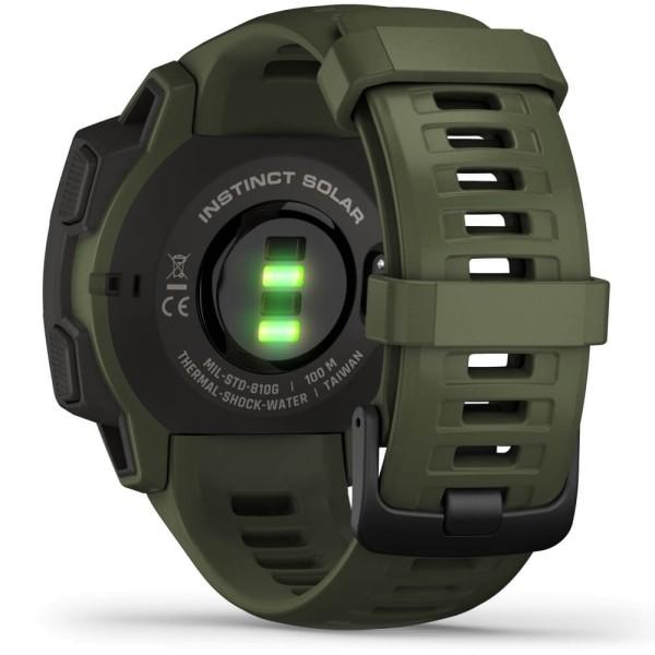 Garmin Instinct SOLAR Tactical Outdoor Smartwatch Grün bei CardioZone online kaufen