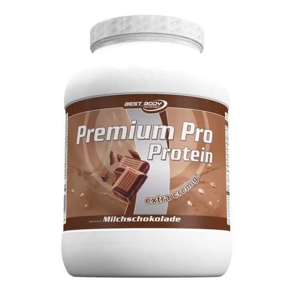 Best Body Nutrition - Premium Pro Eiweiss Shake Milchschokolade 750gr Dose bei CardioZone online kaufen
