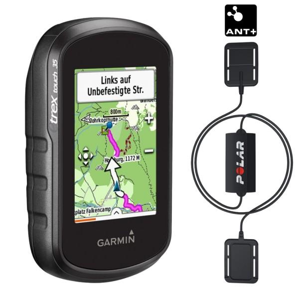 Garmin eTrex Touch 35 Equine inkl. Sattel-Elektroden für Distanzreiten