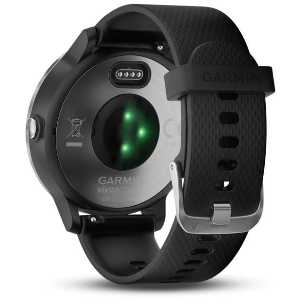 Garmin vívoactive 3 GPS-Multisport-Smartwatch in Schwarz-Silber bei CardioZone guenstig online kaufen