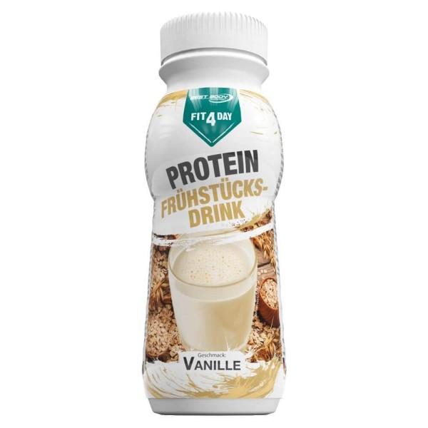 Fit4Day Protein Frühstücksdrink Vanille - 8 x 250 ml PET Flasche bei CardioZone günstig online kaufen