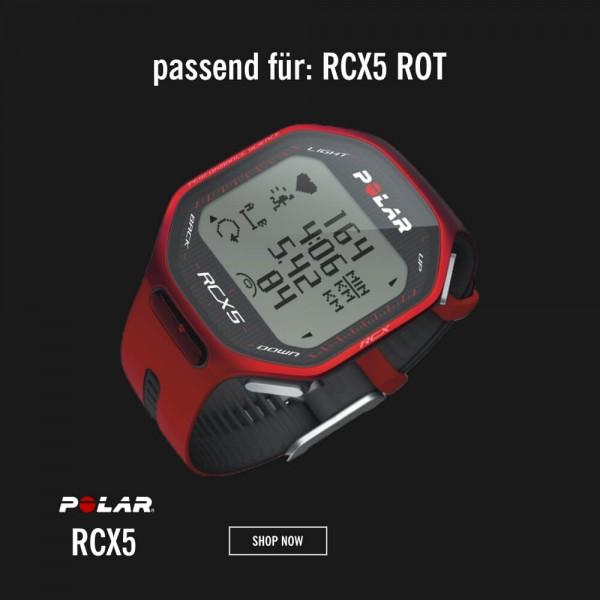 POLAR RCX5 Armband Rot M-L - Ersatzteil bei CardioZone günstig online kaufen