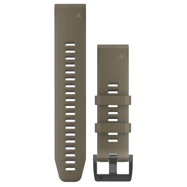 Garmin Quickfit 22mm Silikon-Armband Olivgrün / Schwarz Gr. M bei CardioZone guenstig online kaufen
