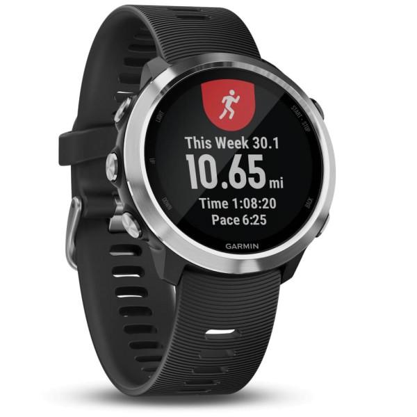 Garmin Forerunner 645 Schwarz/Silber GPS-Lauf Pulsuhr bei CardioZone guenstig online laufen