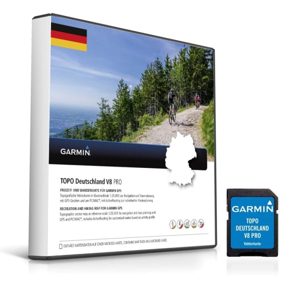 Garmin Topo Deutschland V8 Pro microSD bei CardioZone guenstig online kaufen