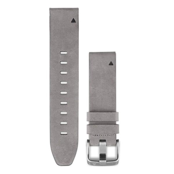 Garmin fenix 5S QuickFit Velourleder Armband grau 20mm bei CardioZone guenstig online kaufen