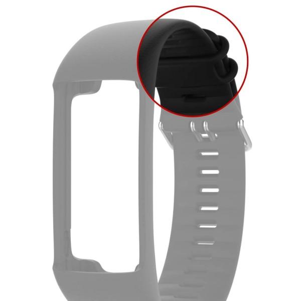 POLAR A370 Armbandschlaufe Schwarz oder Weiss - Ersatzteil bei CardioZone günstig online kaufen