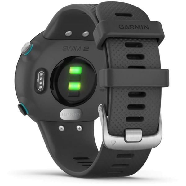 Garmin SWIM 2 Schiefergrau/Silber GPS-Schwimmuhr bei CardioZone günstig online kaufen