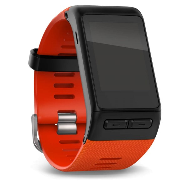Garmin vivoactive HR Ersatz - Wechsel Armband in rot und Groesse M bei CardioZone guenstig online kaufen