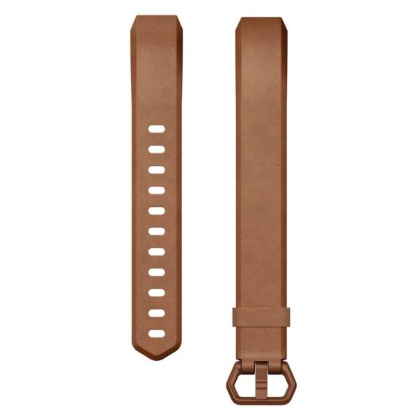 Fitbit Leder Armband braun für Alta HR Activity Tracker bei CardioZone guenstig online kaufen