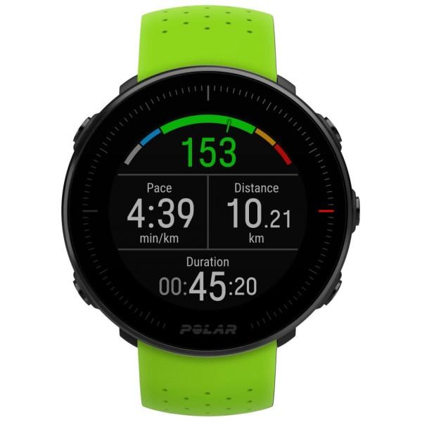 POLAR Vantage M GPS Multisport Uhr in Grün / Marathon-Set mit zwei Armbändern bei CardioZone günstig online kaufen