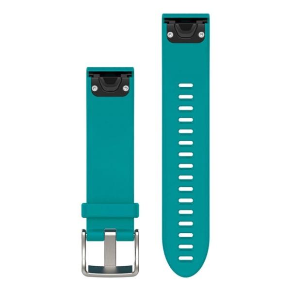 Garmin fenix 5S QuickFit Silikon Armband in türkis und 20mm Breite bei CardioZone guenstig online kaufen
