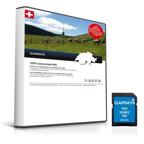 Garmin Topo Schweiz PRO Vectorkarte auf microSD bei CardioZone günstig online kaufen