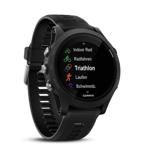 Garmin Forerunner 935 GPS Triathlon Multisportuhr & Smartwatch in schwarz grau bei CardioZone guenstig online kaufen