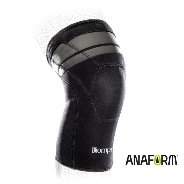 Compex Anaform 2mm Knie Sport-Bandage mit regelbarer Kompression Groesse M-L vei CardioZone guenstig online kaufen