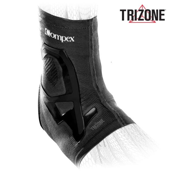 Compex Trizone Knöchel Sport-Bandage für Kompression + Unterstützung