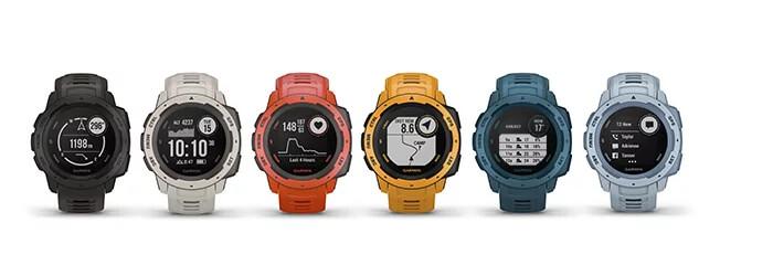 Garmin Instinct Outdoor Smartwatch in vielen Farben bei CardioZone günstig online kaufen