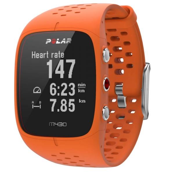 POLAR M430 orange GPS Lauf Pulsuhr mit Pulsmessung am Handgelenk bei CardioZone guenstig online kaufen