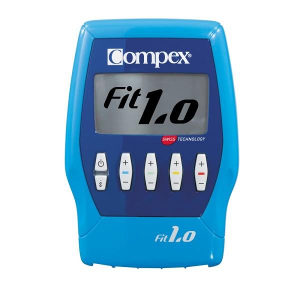 Compex FIT 1.0 Muskelstimulator - inkl. gratis Transportkoffer bei CardioZone guenstig online kaufen