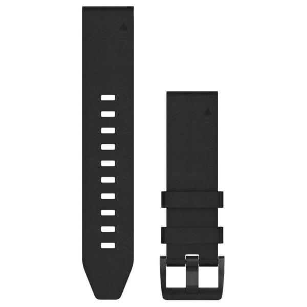 Garmin Quickfit 22mm Leder-Armband Schwarz / Schwarz Gr. M bei CardioZone guenstig online kaufen
