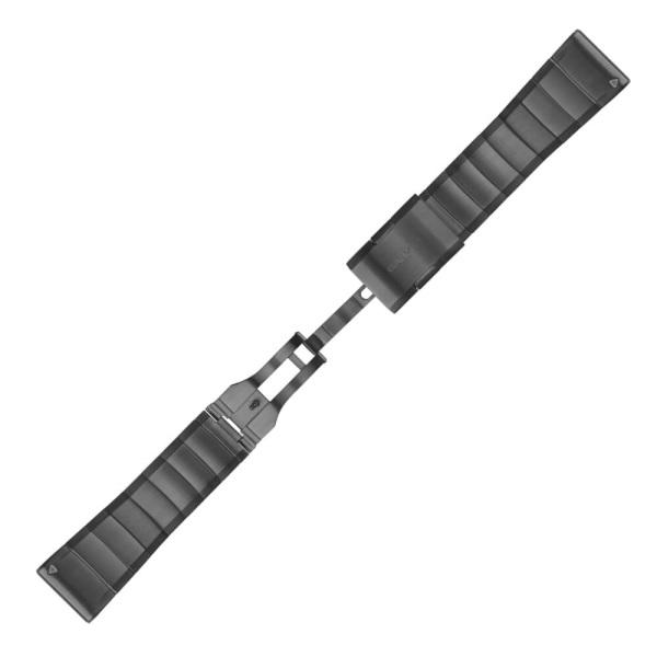 Garmin QuickFit Metallarmband Grau 26mm für fenix 5X + fenix 3