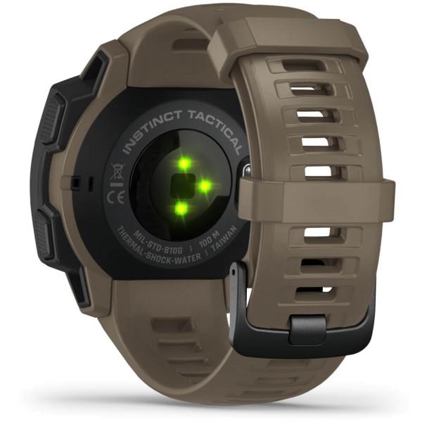 Garmin Instinct Tactical Outdoor Smartwatch - Beige/Schwarz bei CardioZone günstig online kaufen