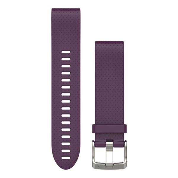 Garmin fenix 5S QuickFit Silikon Armband in lila und 20mm Breite bei CardioZone guenstig online kaufen