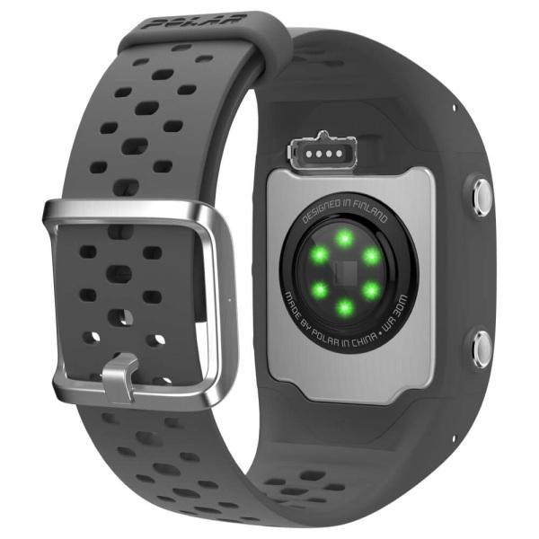 POLAR M430 anthrazit grau GPS Lauf Pulsuhr mit Pulsmessung am Handgelenk bei CardioZone guenstig online kaufen