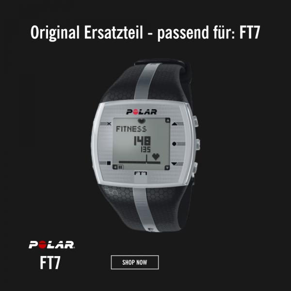 POLAR FT7M Armband Schwarz M-L - Ersatzteil bei CardioZone günstig online kaufen