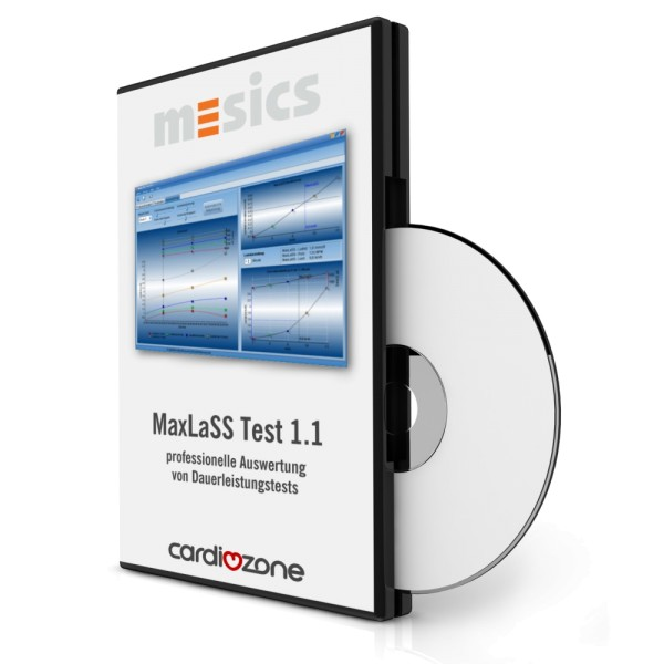 MaxLaSS Test Laktat Analysesoftware f