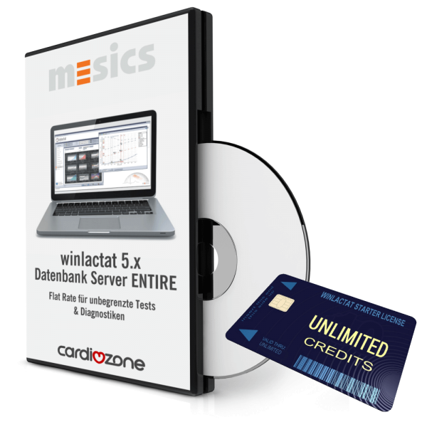 winlactat 5.x Datenbankserver ENTIRE (Festpreis - unbegrenzte Tests)
