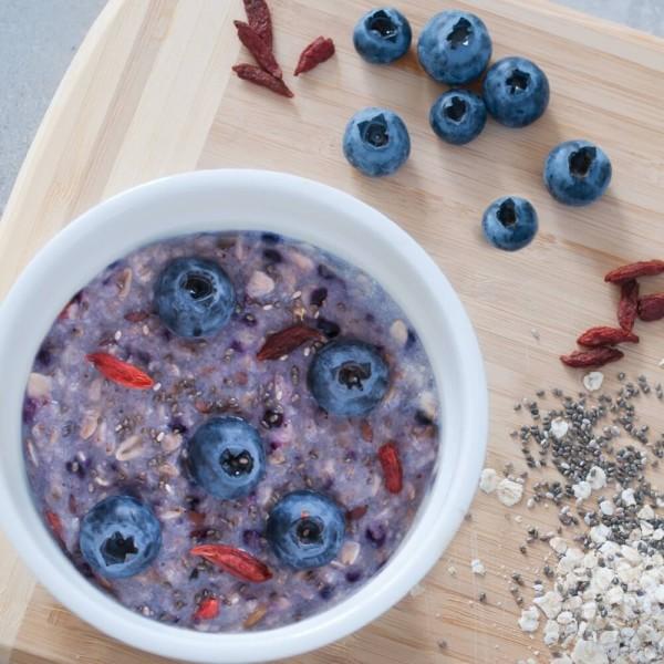 Fit4Day Superfood Porridge 5x 50 g Beutel Heidelbeere-Vanille bei CardioZone günstig online kaufen