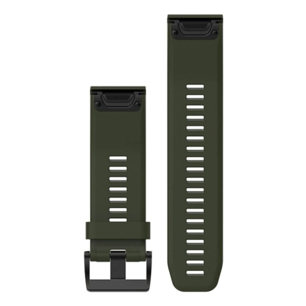Garmin Quickfit Silikon Armband Gruen Oliv 26mm Fuer Fenix 5x Kaufen