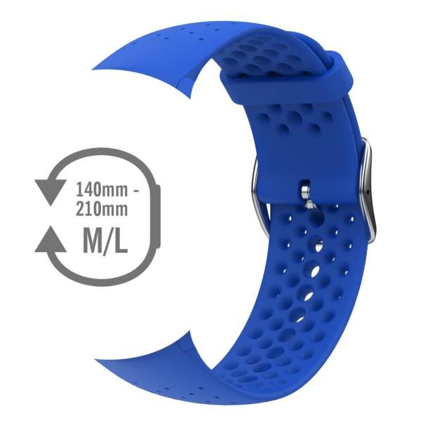 POLAR Vantage M Wechsel-Armband Silkon Blau Gr. M-L bei CardioZone günstig online kaufen