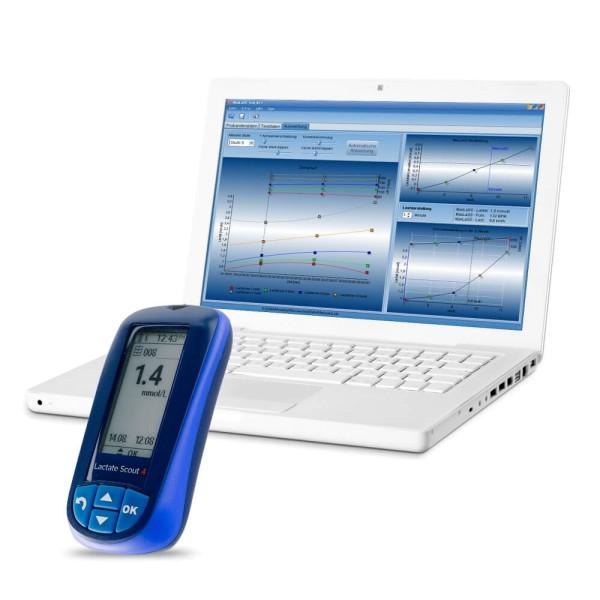 MaxLaSS Laktatdiagnostik Software und Lactate Scout 4 Startset bei CardioZone günstig online kaufen