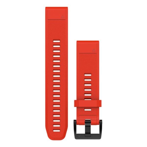 Garmin fenix 5 QuickFit Silikon Armband in rot und 22mm Breite bei CardioZone guenstig online kaufen