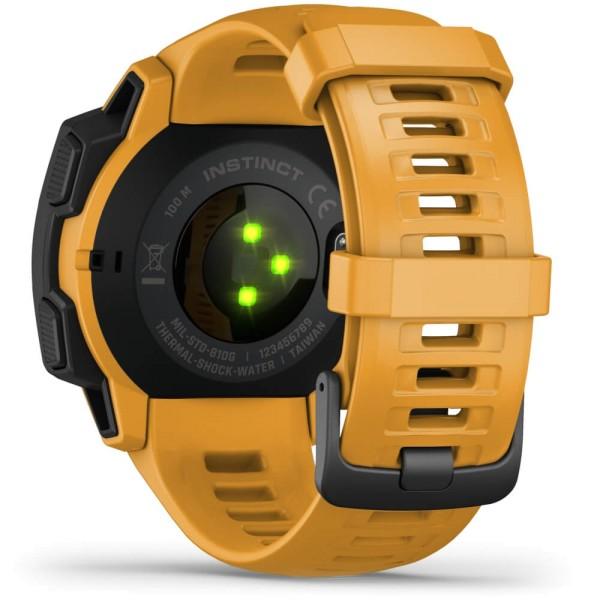 Garmin Instinct Outdoor Smartwatch in Gelb bei CardioZone günstig online kaufen