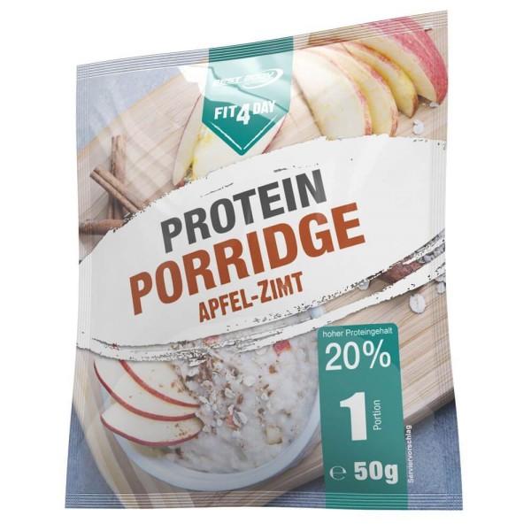 Fit4Day Protein Porridge 5x 50 g Beutel Apfel-Zimt bei CardioZone günstig online kaufen