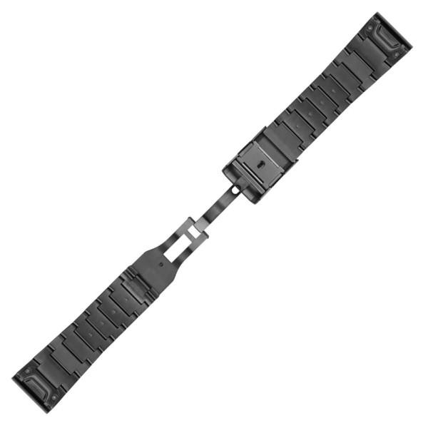 Garmin Quickfit 26mm Titan-Armband in Grau Gr. M bei CardioZone guenstig online kaufen