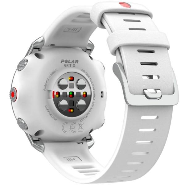 POLAR GRIT X Outdoor Multisportuhr Weiss - Größe S bei CardioZone günstig online kaufen