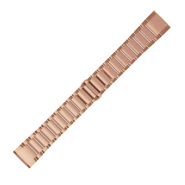 Garmin Quickfit 20mm Metall-Armband Rose-Gold Gr. M für fenix 5S / 5S Plus