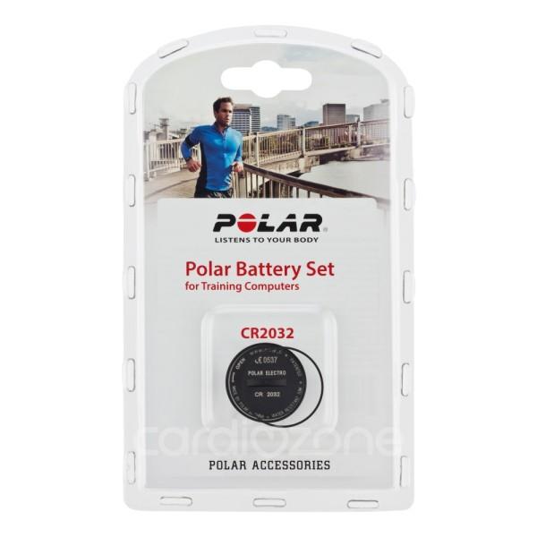 POLAR Batterie-Set mit Deckel und Dichtung für RS400, RCX3, RCX5, RS800CX Pulsuhren
