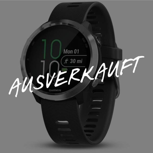 Garmin Forerunner 645 Music schwarz/silber mit Gratis Huawei AM61 Kopfhörer exklusive bei CardioZone