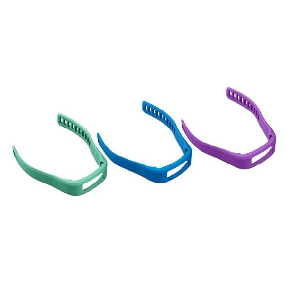 Garmin Ersatzarbänder vivofit 1 blau, lila, türkis - Größe small bei CardioZone online kaufen