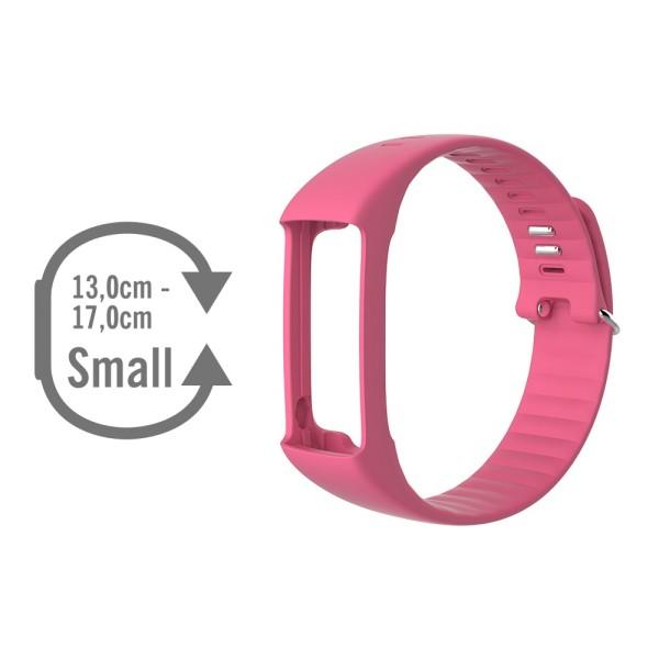 POLAR A360 Wechselarmband in pink und Groesse S bei CardioZone guenstig online kaufen