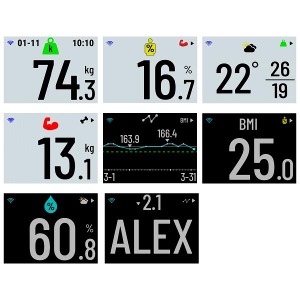 Garmin Index S2 Smart digitale Körperwaage m. WLAN + Bluetooth in Schwarz oder Weiss bei CardioZone günstig online kaufen