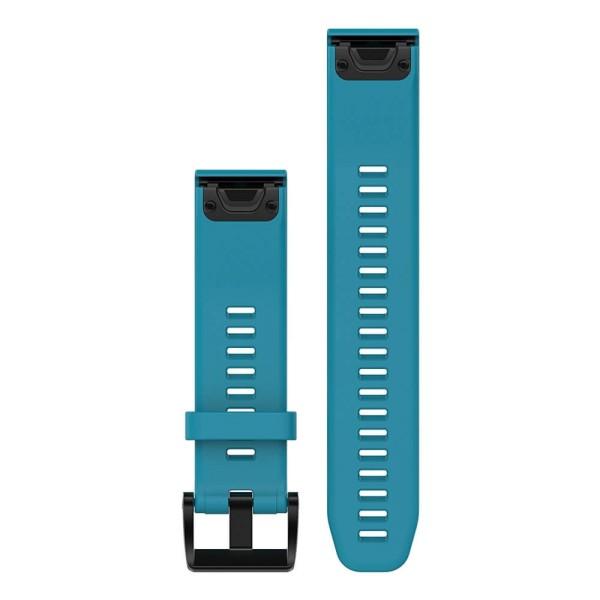 Garmin fenix 5 QuickFit Silikon Armband in Cirrus Blau und 22mm Breite bei CardioZone guenstig online kaufen