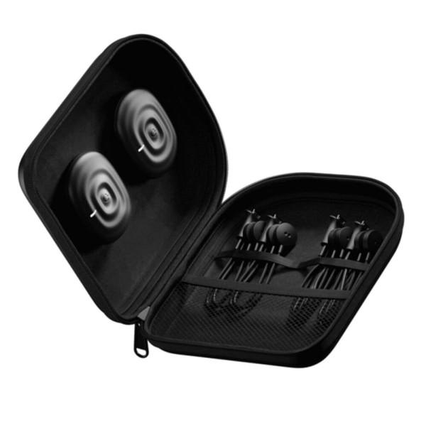 PowerDot Duo 2.0 Schwarz - kabelloser 2 Kanal EMS Muskelstimulator bei CardioZone entdecken und online kaufen