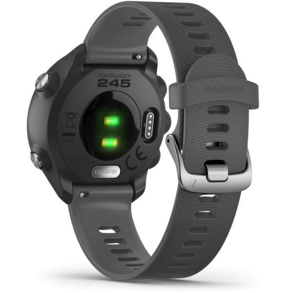 Forerunner 245 Schwarz Grau GPS Lauf Sportuhr bei CardioZone günstig online kaufen