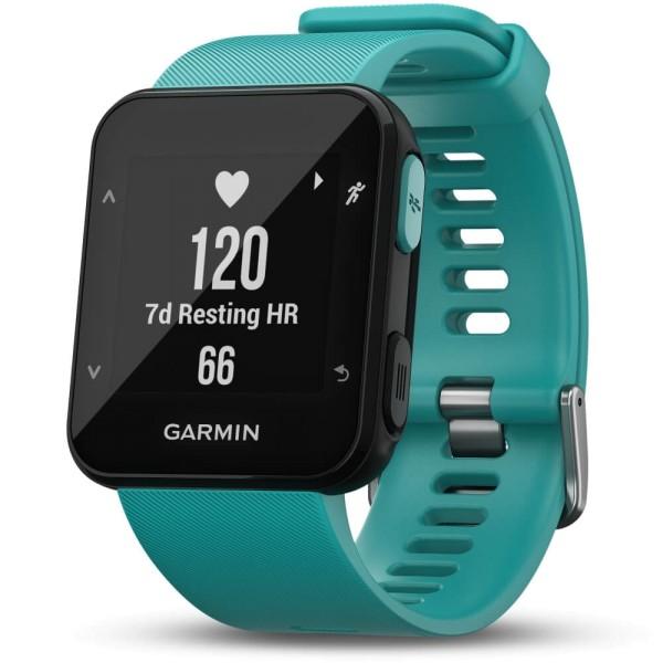 Garmin Forerunner 30 GPS-Laufuhr türkis bei CardioZone guenstig online kaufen